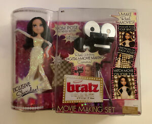 Exclusive Bratz Sharidan Doll  Movie Making Set. NRFB. Box In Good Condition.