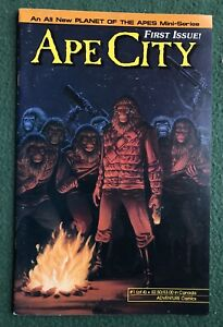 APE CITY #1 Planet of the Apes Adventure Comics Copper Age vf
