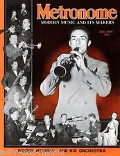 WOODY HERMAN & His Band 1st time on METRONOME Magazine Cover 11x14 Print Aug1939