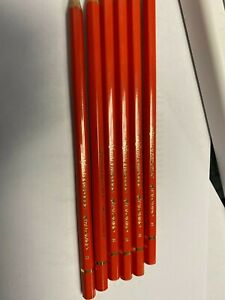 Palomino CALIFORNIA REPUBLIC Graphite Pencils-B Orange - 12 Pencils-Loose-New