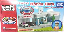 NEW JAPAN TOMICA TOWN CITY SCENE TAKARA TOMY HONDA CAR SHOWROOM RARE