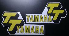 Yamaha TT500 Tank Decals Stickers Logo XT500 HL500 TWINSHOCK MOTOCROSS VINDURO