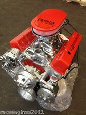 383 STROKER MOTOR 425HP ROLLER TURN KEY PRO STREET CHEVY CRATE ENGINE  SBC CNC