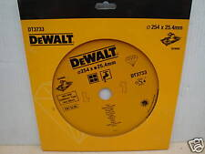 DEWALT DT3733 254MM X 25.4MM DIAMOND TILE CUTTING DISC D24000 TILESAW
