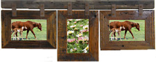 Unique Barn Wood Picture Frame Collages for 4 x 6 Photos