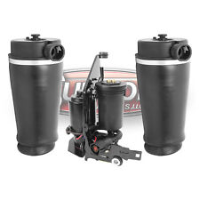 97-02 Ford Expedition RWD Rear Air Springs & Air Compressor w/ Mounting Bracket