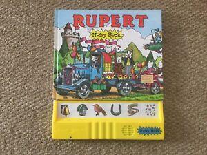 RUPERT THE BEAR NOISY BOOK with Sound Effects Methuen Alison Green 1994