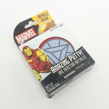 NEW Marvel Iron Man Arc Reactor Metallic Amazing Putty Fun Fidgeting Kids Toy