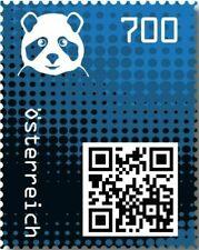 Crypto Stamp 2.0 Panda BLAU im Folder ! Postfrisch**MNH 4 Bilder >