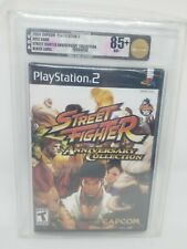 Street Fighter Anniversary Collection PlayStation PS2 Factory Sealed VGA 85+ 85