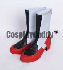 Anime Sword Art Online Ordinal Scale Yuuki Asuna Cosplay Boots Shoes s008