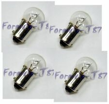 EIKO BA9s G4-1/2 12V 6W 6253 FOUR BULB MINIATURE LIGHT INDICATOR ANGEL EYE LAMP