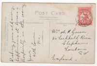 1913 Nov 19th. Picture Postcard. Hobart, Tasmania to London, England.