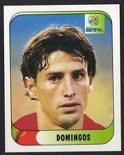 "EURO 96 STICKER - PORTUGAL - "" DOMINGOS "" No 296 BY MERLIN"