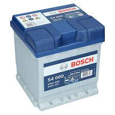 Bosch S4 000 12V 44Ah 390 A EN Autobatterie Starterbatterie ersetzt 40Ah 42Ah