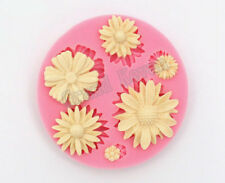 USA Flower Fondant Moulds Silicone Cake Mold Forma de Silicone Cake Decoration