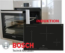 Bosch einbau Herdset Autark Backofen Backwagen + Induktion Kochfeld 80cm