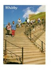Yorkshire - Whitby, The 199 Steps - Postcard