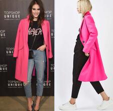 Classic Neckline Popper Coats & Jackets Winter for Women