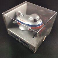 Vintage American Airlines Jumbo Jet Souvenir Airplane Radio Tuner w/ Headphones