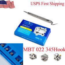 Dental Orthodontic Brackets Self Ligating Passive Mini Braces Mbt 022 3 4 5 Hook
