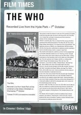 The Who Rock Music Flyers & Postcards