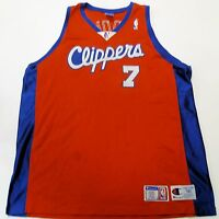 LAMAR ODOM #7 LOS ANGELES CLIPPERS VINTAGE CHAMPION SEWN JERSEY SIZE 56 Red 3XL