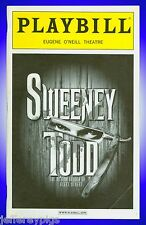 Playbill + Sweeney Todd + Michael Cerveris , Alexander Gemignani , Mark Jacoby