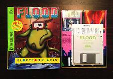 Flood - Commodore Amiga - komplett (Electronic Arts) Bullfrog Game Spiel