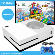 Classic Retro Game Console Built-in 600 Games TV HDMI Output  2 Joystick .