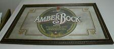 "Michelob Amber Bock Mirror 29"" x 22"" 1993 Anheuser"