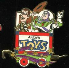 Character Train Mystery Buzz Lightyear Woody Disney Pin 51609