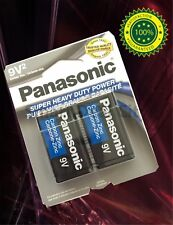 4 pcs Size 9V Super Heavy Duty Panasonic Card 9V Zinc Carbon Battery