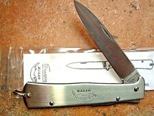 Mercator k55k cat Otter knife Otter messer Solingen Germany ALL STAINLESS 10826R