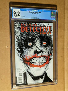 Detective Comics #880 1st print Wicked Iconic Joker Jock Cover CGC 9.2 NM-