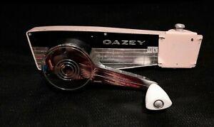 Vintage Dazey Can Opener Canaramic Metal Model 102 Pink. Works