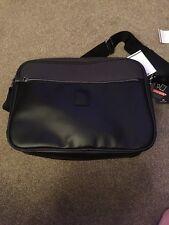"""Il bagages """"Downtown"""" Executive Business Messenger Sac noir neuf avec étiquettes"""
