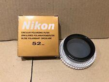 Nikon polarizzatore circolare 52mm Nuovo.