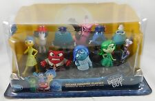 Disney Store Pixar Inside Out Deluxe PVC Figure Playset Figurine Play Set 10 Pc