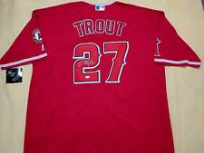 Mike Trout auto Los Angeles Angels jersey STEINER