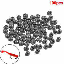 Lead Split Shot Sinker Weights Sinkers For Fishing Squeezable Removable 100 Pcs