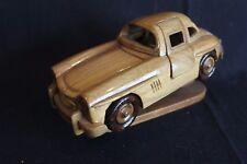 Wooden Sculpture Mercedes-Benz 300 SL 1:18 wood (JS)
