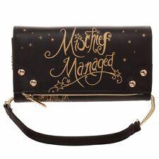 Harry Potter Mischief Managed Marauders Map Foldover Clutch Wallet Handbag Purse