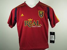 Real Salt Lake Official Adidas MLS Kids Athletic Jersey New