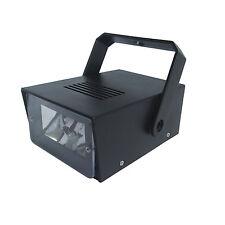 Cheetah con pilas luz estroboscópica Mini LED Luz disco con control de velocidad-Negro