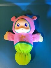 2011 Playskool Glow Worm Glowworm Pink Musical Light-up Plush