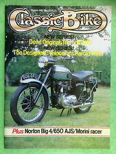 CLASSIC BIKE - October 1982 - Norton Big Four - Triumph T1 10 Tiger - 650 AJS