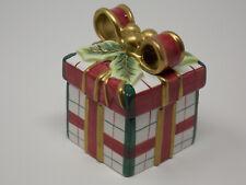 Fitz And Floyd Essentials - Plaid Christmas Lidded Box