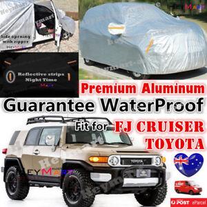 Fits For Toyota FJ Cruiser Aluminum car cover Best UVProof Waterproof car cover