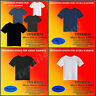 Thermal Men's Short Sleeve T-Shirt Optimum Comfort Blue Charcoal White M-L-XL